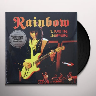 Rainbow LIVE IN JAPAN Vinyl Record
