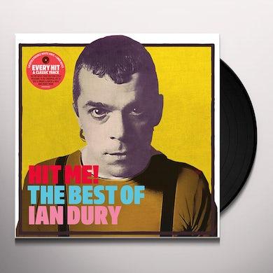 Ian Dury HIT ME: THE BEST OF Vinyl Record