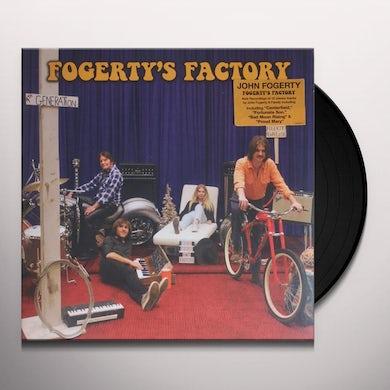 John Fogerty FOGERTY'S FACTORY Vinyl Record