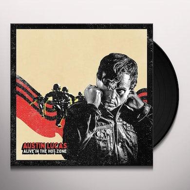 Austin Lucas ALIVE IN THE HOT ZONE Vinyl Record