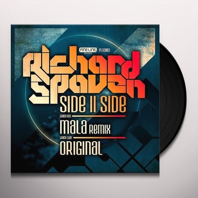 Richard Spaven SIDEIISIDE (MALA REMIX) Vinyl Record - UK Release