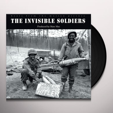 Marc Mac INVISIBLE SOLDIERS Vinyl Record