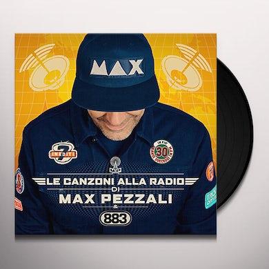Max Pezzali LE CANZONI ALLA RADIO Vinyl Record