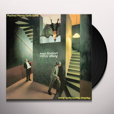 Manfred Mann ANGEL STATION Vinyl Record