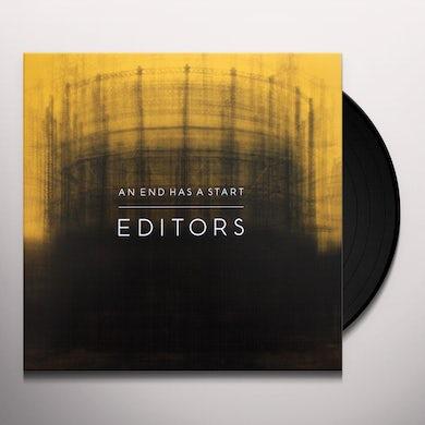 Editors AN END HAS A START Vinyl Record