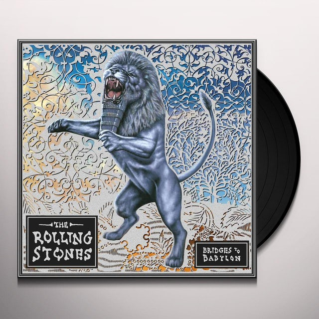 The Rolling Stones BRIDGES TO BABYLON Vinyl Record