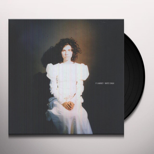 Pj Harvey WHITE CHALK Vinyl Record - UK Release