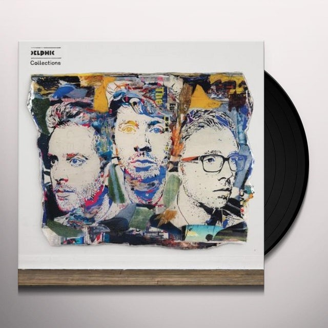 Delphic COLLECTIONS Vinyl Record - Sweden Release