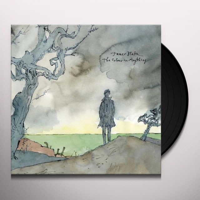 James Blake COLOUR IN ANYTHING Vinyl Record