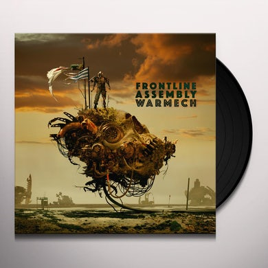 Front Line Assembly WARMECH Vinyl Record