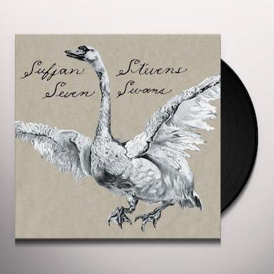 Sufjan Stevens SEVEN SWANS Vinyl Record