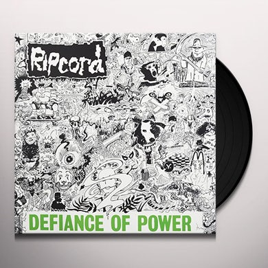 Ripcord DEFIANCE OF POWER Vinyl Record