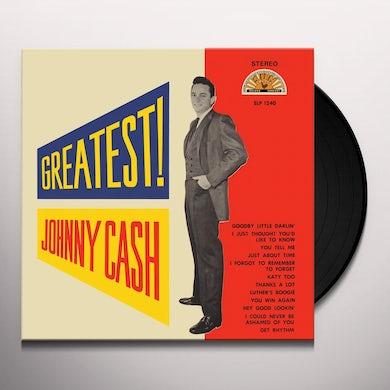 Johnny Cash GREATEST Vinyl Record