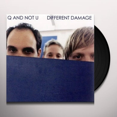 Q And Not U DIFFERENT DAMAGE Vinyl Record