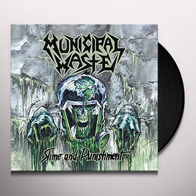Municipal Waste SLIME & PUNISHMENT Vinyl Record