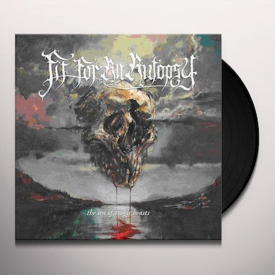 Fit For An Autopsy The Sea Of Tragic Beasts (Red/Blue Splat Vinyl Record