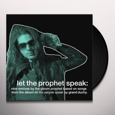 Grand Duchy LET THE PEOPLE SPEAK Vinyl Record