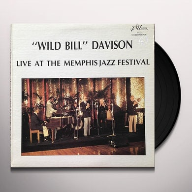 Wild Bill Davison LIVE AT THE MEMPHIS JAZZ FESTIVAL Vinyl Record