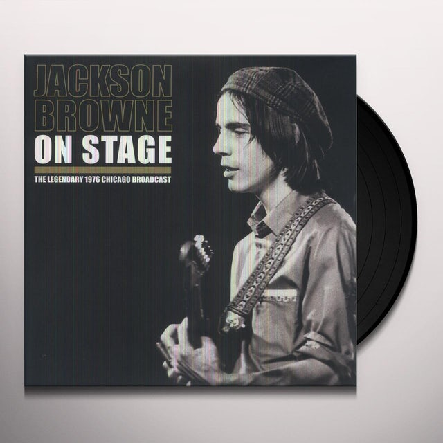 Jackson Browne ON STAGE Vinyl Record - UK Release