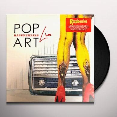 Raspberries Pop Art Live Vinyl Record