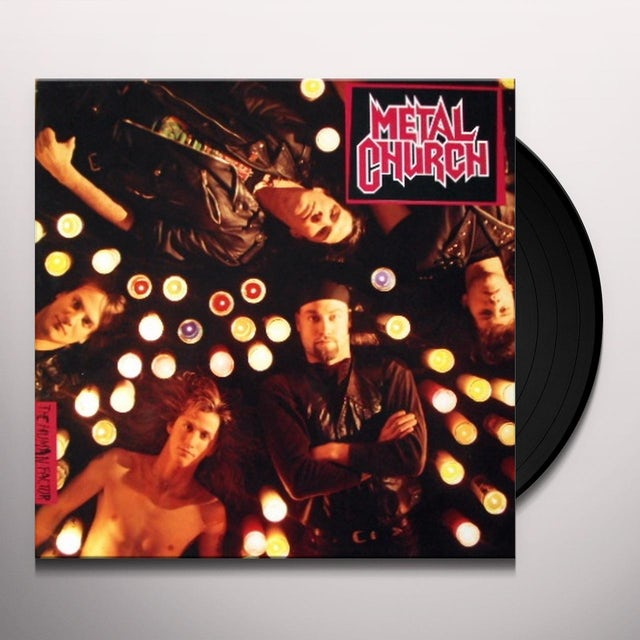 Metal Church HUMAN FACTOR Vinyl Record - 180 Gram Pressing