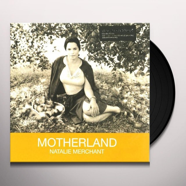 Natalie Merchant MOTHERLAND Vinyl Record