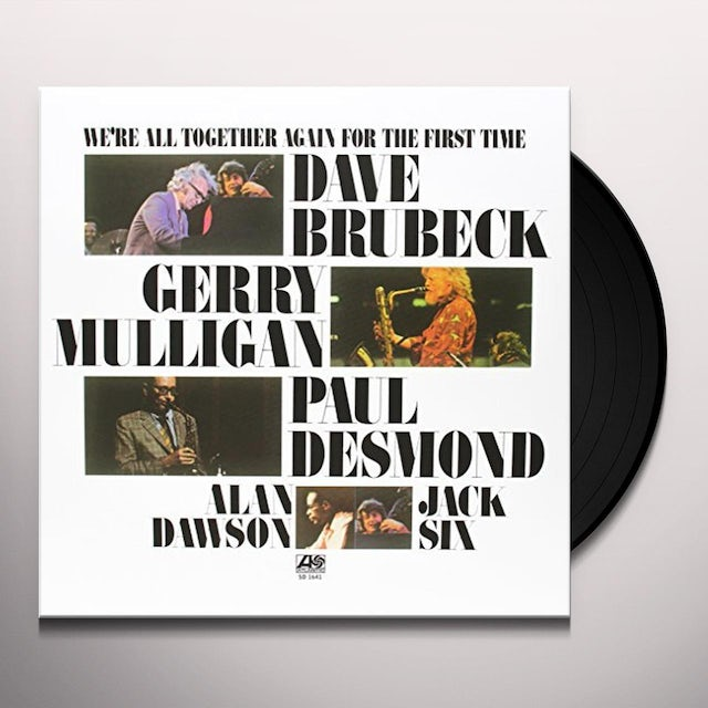 Dave Brubeck WE'RE ALL TOGETHER AGAIN Vinyl Record - 180 Gram Pressing