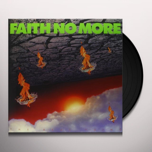 Faith No More REAL THING Vinyl Record