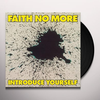 Faith No More INTRODUCE YOURSELF Vinyl Record