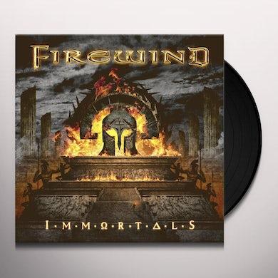 IMMORTALS (RED VINYL) Vinyl Record