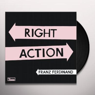 Franz Ferdinand RIGHT ACTION Vinyl Record
