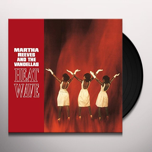 Martha Reeves & Vandellas HEAT WAVE Vinyl Record