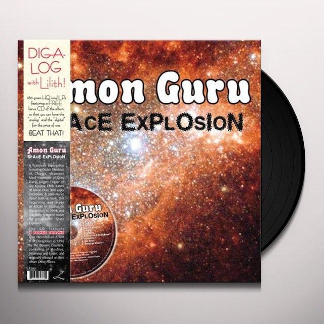 Amon Guru SPACE EXPLOSION Vinyl Record