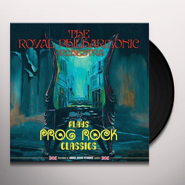 Royal Philharmonic Orchestra RPO PLAYS PROG ROCK CLASSICS Vinyl Record