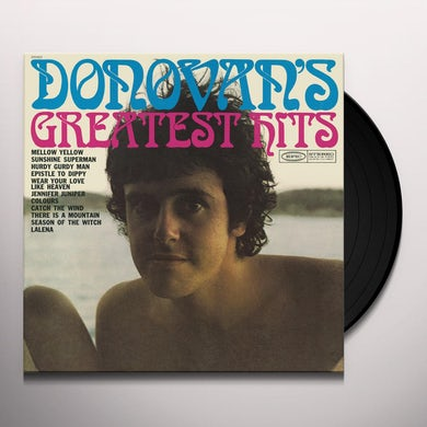 Donovan GREATEST HITS (1969) Vinyl Record
