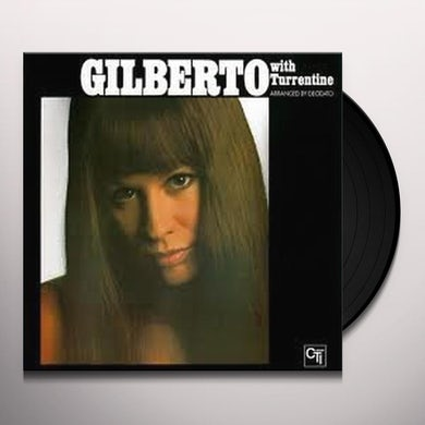 Astrud Gilberto WITH TURRENTINE Vinyl Record - Holland Release