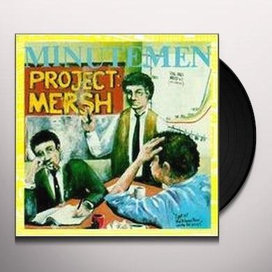 Minutemen PROJECT MERSH Vinyl Record