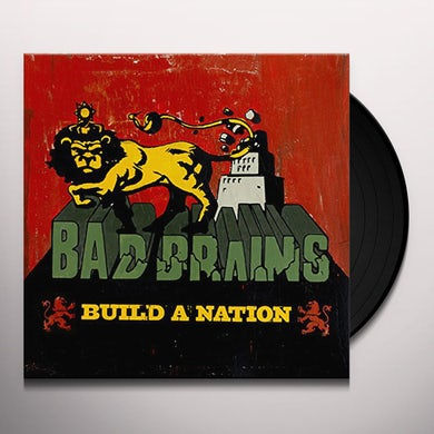 Bad Brains BUILD A NATION Vinyl Record
