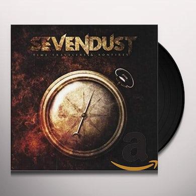 Sevendust Time Travelers & Bonfires Vinyl Record