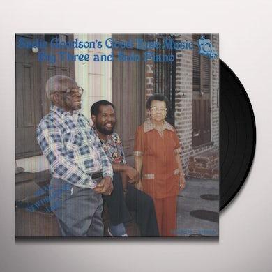 Sadie Goodson'S Good Time Music BIG 3 & PIANO MUSIC Vinyl Record