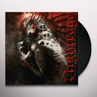 Nightrage WEARING A MARTYR'S CROWN Vinyl Record