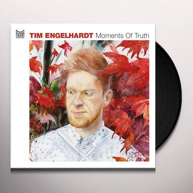 Tim Engelhardt MOMENTS OF TRUTH Vinyl Record