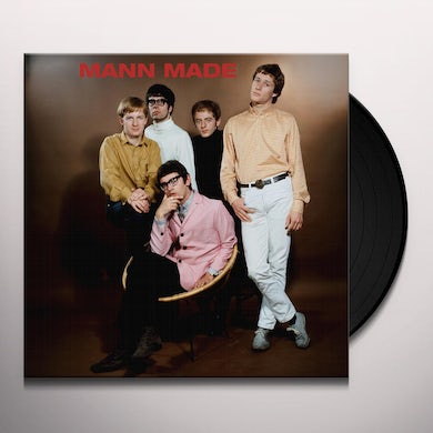 Manfred Mann MANN MADE Vinyl Record