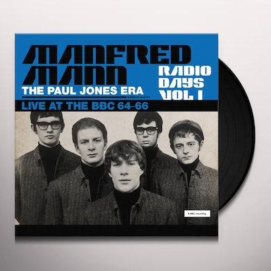 Manfred Mann  RADIO DAYS VOL. 1: LIVE AT THE BBC 1964-66 Vinyl Record