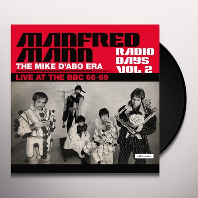 Manfred Mann RADIO DAYS VOL. 2: LIVE AT THE BBC 1966-69 Vinyl Record