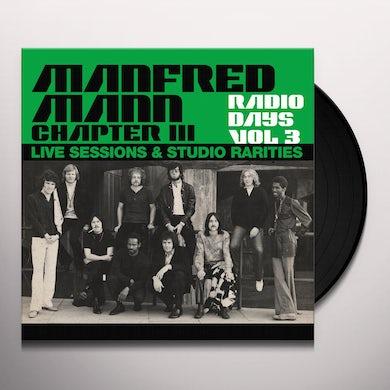 Manfred Mann  RADIO DAYS VOL. 3: LIVE SESSIONS & STUDIO RARITIES Vinyl Record