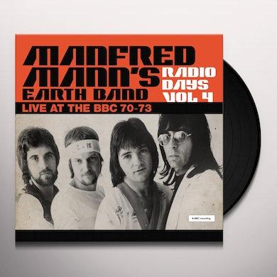 Manfred Mann  RADIO DAYS VOL. 4: LIVE AT THE BBC 1970-73 Vinyl Record