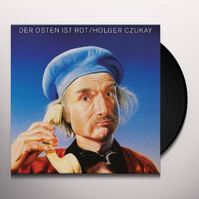Holger Czukay DER OSTEN IST ROT Vinyl Record