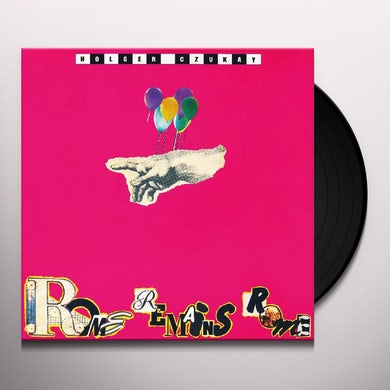 Holger Czukay ROME REMAINS ROME Vinyl Record