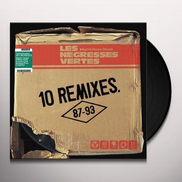 Les Negresses Vertes 10 REMIXES Vinyl Record